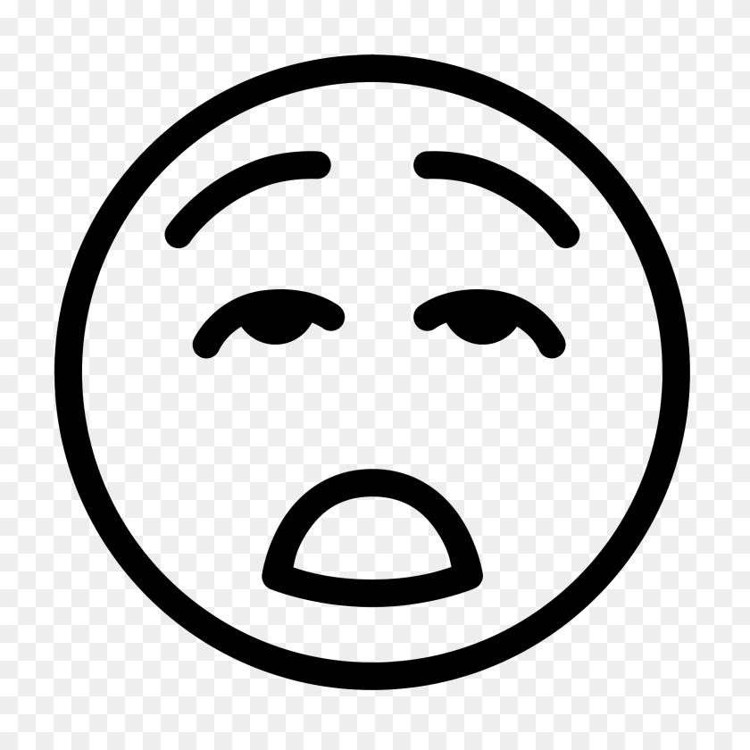 1600x1600 Bored Icon - Meh Emoji PNG