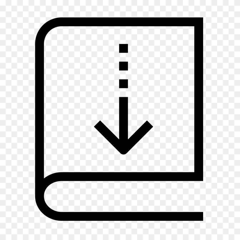 Borrow Book Icon - Book Icon PNG