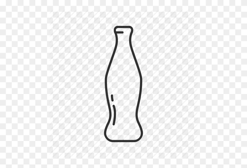 Bottle, Coke, Coke Bottle, Glass Bottle, Pepsi, Soda, Soda Bottle Icon - Coca Cola Bottle Clipart