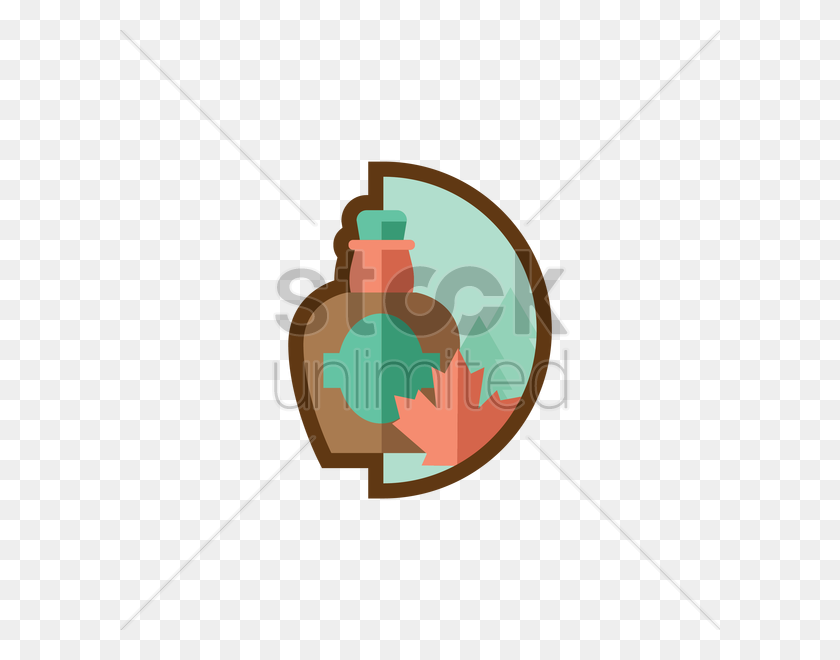 600x600 Bottle Of Maple Syrup Vector Image - Maple Syrup Clipart