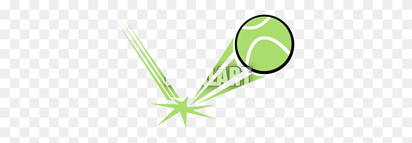 Bouncing Tennis Ball Clip Art - Tennis Ball Clip Art