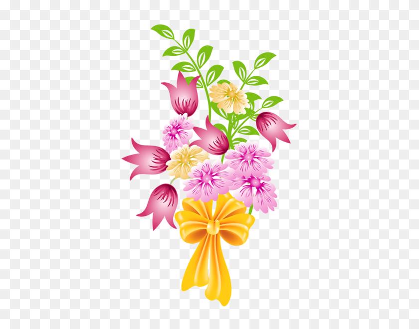 Bouquet Clipart Pretty Flower, Bouquet Pretty Flower Transparent - Mason Jar With Flowers Clip Art