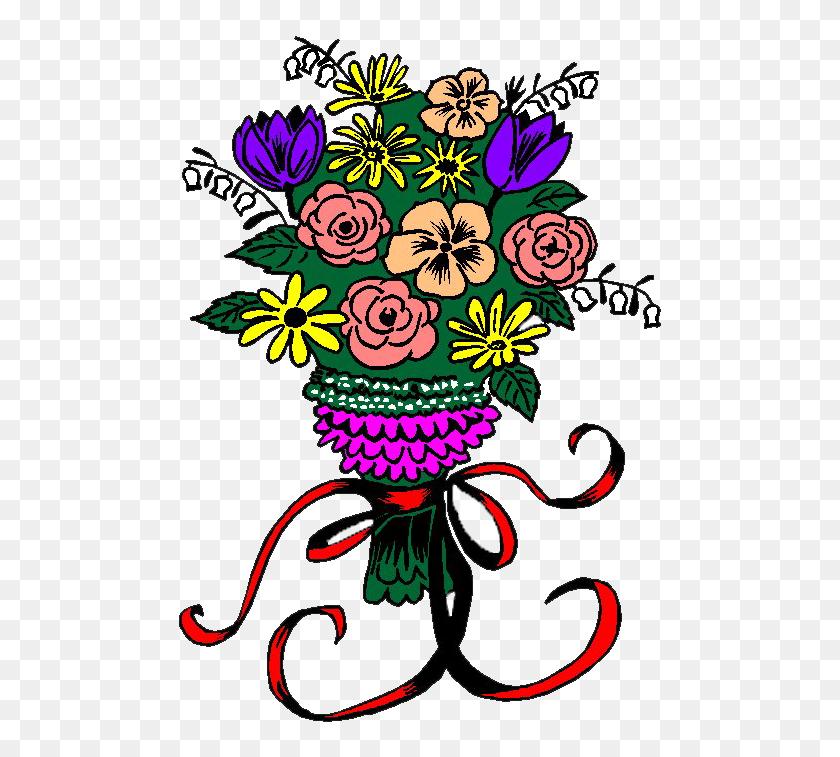 Bouquet Clipart Wedding Bouquet - Bouquet Of Roses Clipart
