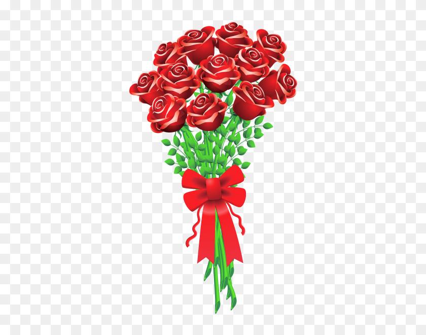Bouquet Of Flowers Clip Art - Rose Bouquet Clipart