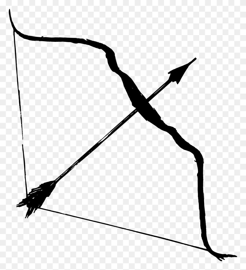 Bow And Arrow Transparent Png Pictures - Vintage Arrow Clipart