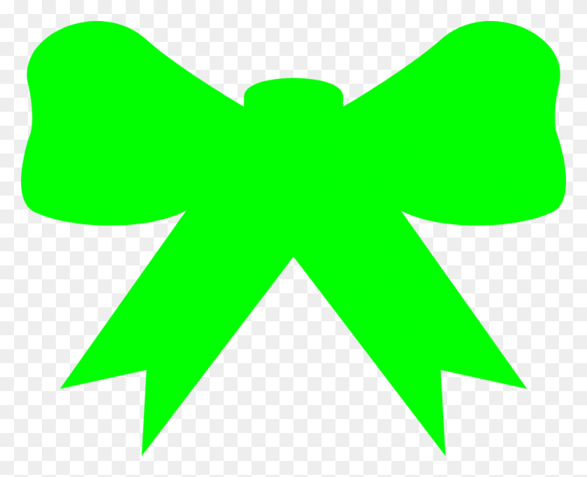 Bow Free Stock Photo Illustration Of A Green Bow - Green Bow PNG
