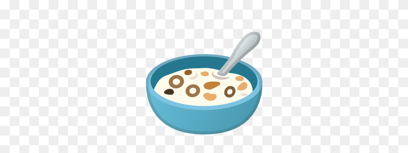 Bowl With Spoon Icon Noto Emoji Food Drink Iconset Google - Baby Food PNG