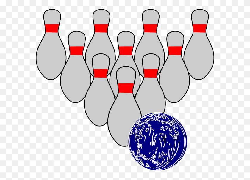 Bowling Duckpins Clip Art At Clkercom Vector Clipart - Bowling Pin Clipart Free