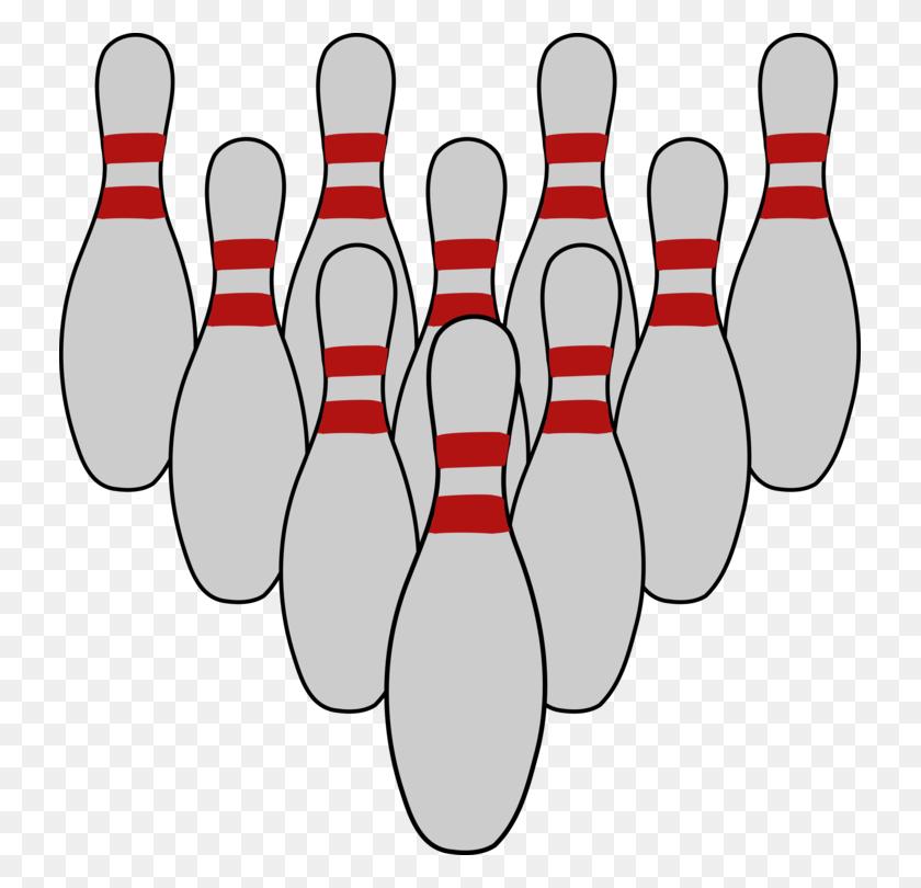 Bowling Pin Ten Pin Bowling Bowling Balls - Ten Clipart