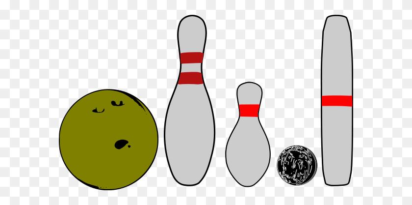 600x357 Bowling Pins And Balls Png Clip Arts For Web - Sports Balls PNG