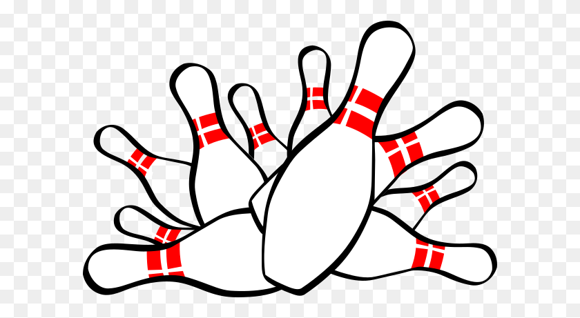 Bowling Strike Clip Art - Strike Clipart