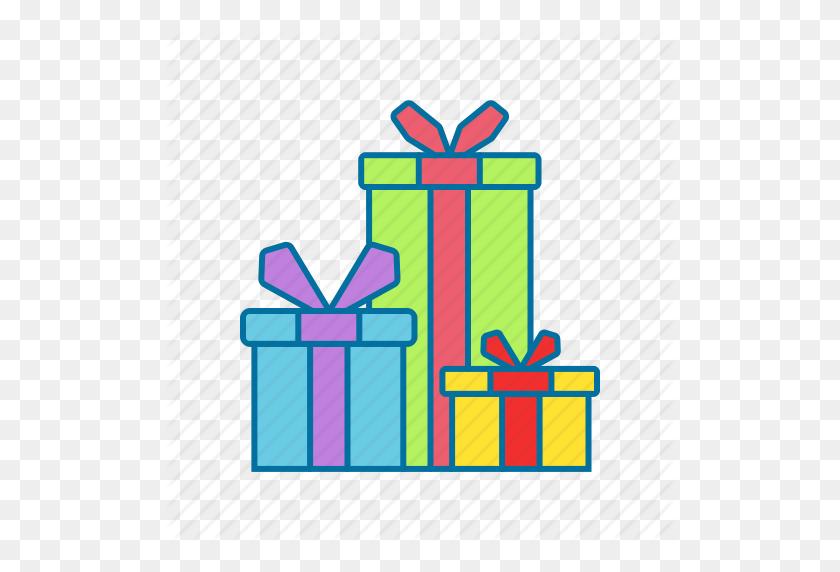 Box, Christmas, Gift, Presents Icon - Christmas Presents PNG
