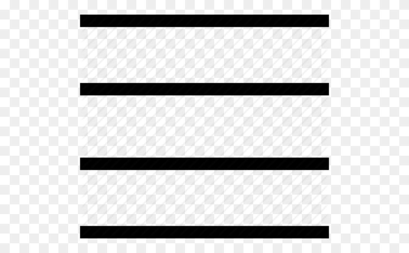 Box, Column, Horizontal, Lines Icon - Horizontal Line PNG