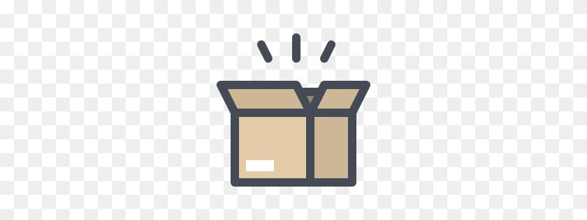 Box Open Icons - Open Box Clipart