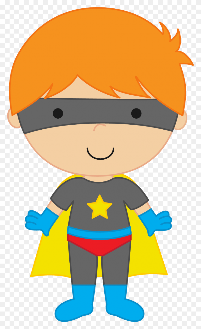 Boy Clipart Superhero - Wonder Clipart
