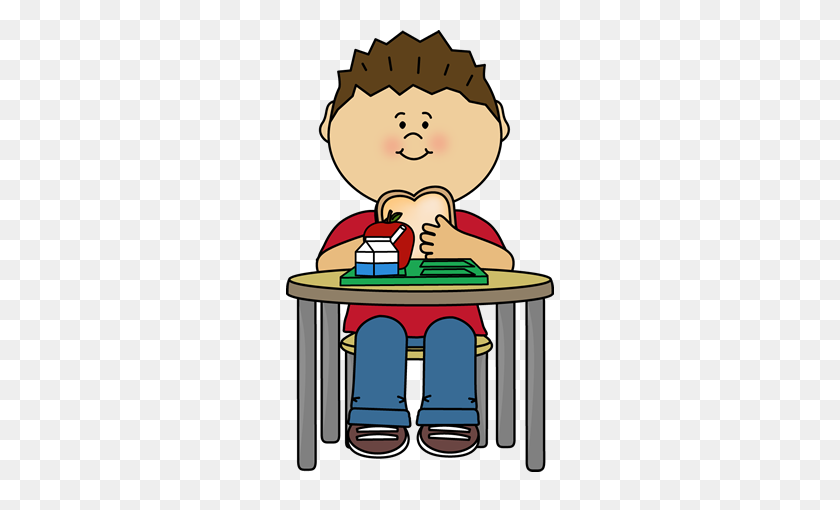 268x450 Boy Eating Cafeteria Lunch Crafts And More Clip - Sad Boy Clipart