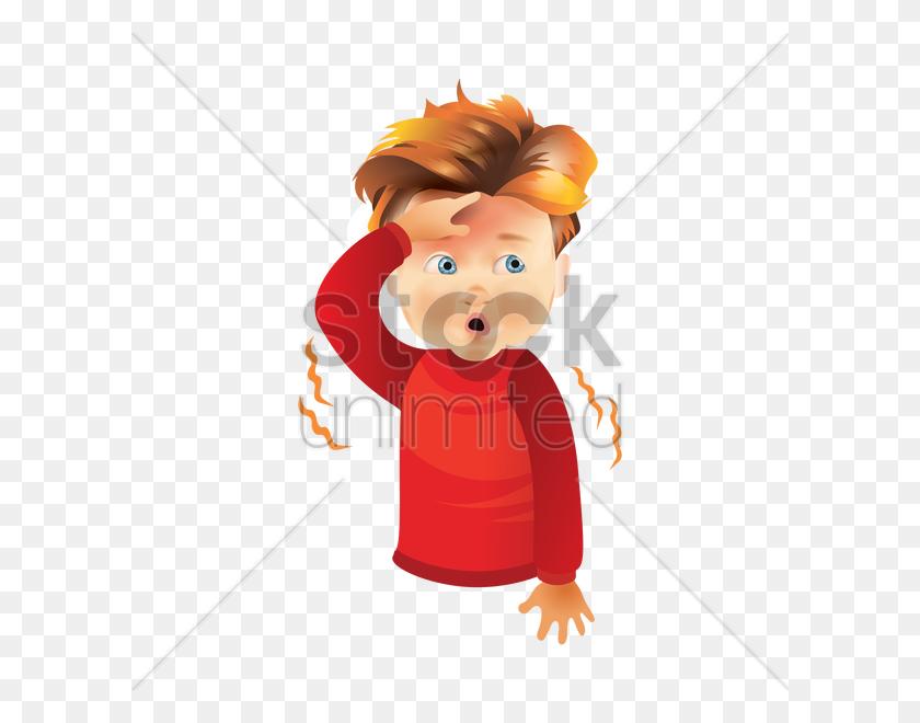 Boy Feeling Sick Vector Image - Feeling Sick Clipart