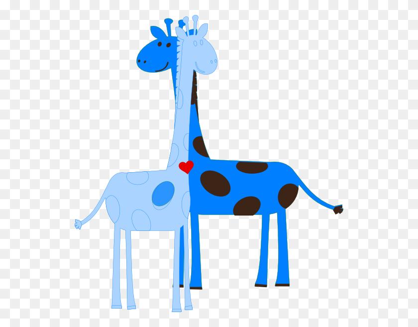 Boy Giraffe Baby Shower Clip Art - Giraffe Baby Clipart
