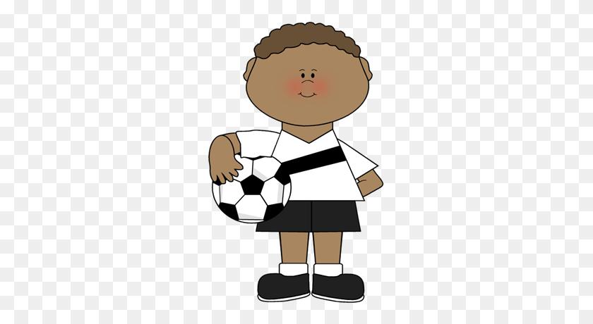 Boy Holding A Soccer Ball Soccer Soccer, Soccer - Hold Clipart