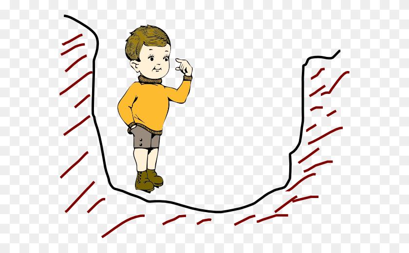 Boy In A Pit Clip Art - Pit Clipart