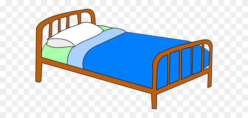 600x339 Boy On Bed Clipart Bangdodo - Boy In Bed Clipart
