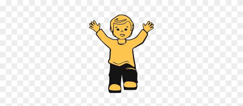 Boy Raising Hand Clipart Png Image - Kid Raising Hand Clipart