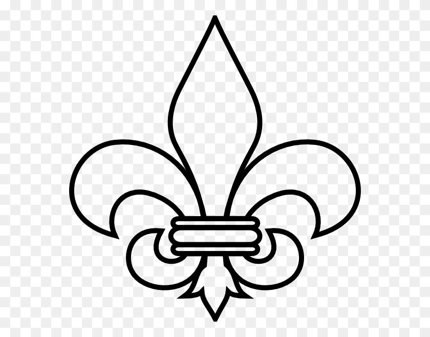 570x598 Boy Scouts Clipart Fleur - Boy Scout Clip Art Free