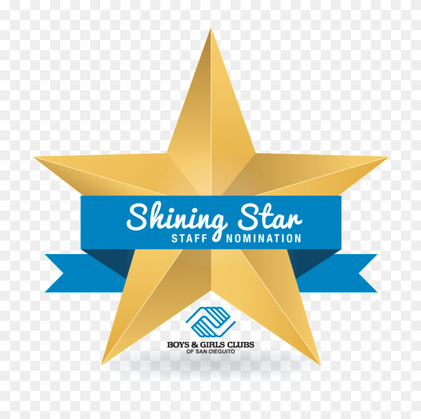 1024x1020 Boys Girls Clubs Of San Dieguito Our Shining Star Staff Nomination - Shining Star PNG