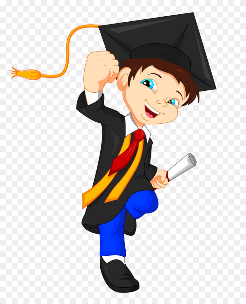 Boys Graduation, School And Graduation Clip Art - Graduation Party Clipart