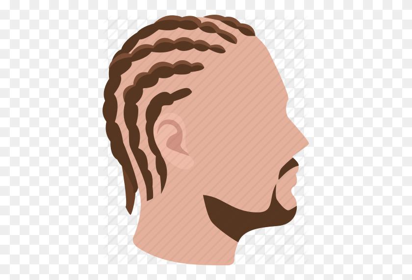 Braided, Braids, Cornrows, Hair, Hairstyle, Mens, Short Icon - Mens Hair PNG