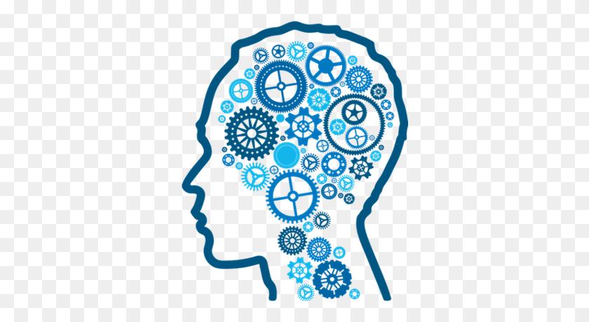Brain Blue Mechanics Transparent Png - Brain Clipart Transparent