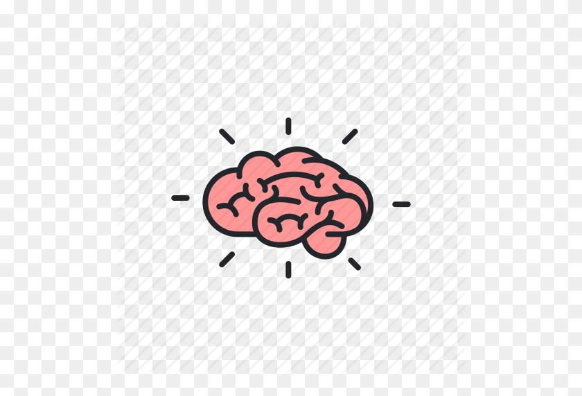 Brain, Brainstorm, Brainstorming, Knowledge, Metaphor, Thinking Icon - Metaphor Clipart