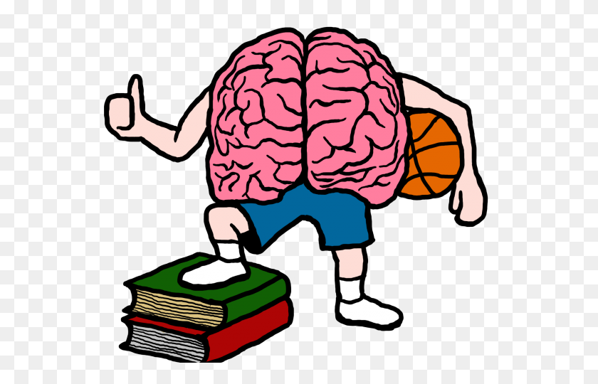 Brain Clipart Smoking - Basketball And Net Clipart