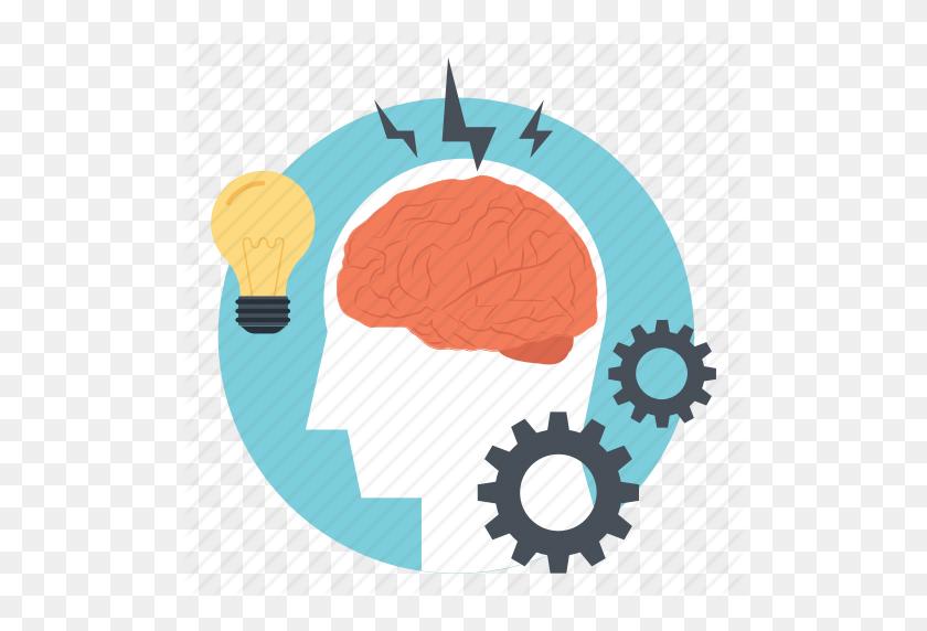 Brain Cogs, Brain Potential, Brain Process, Brainstorming - Potential Clipart