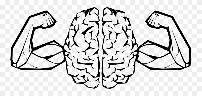 Brain Head Turtle Artificial Intelligence Line Art - Mud Tire Clipart