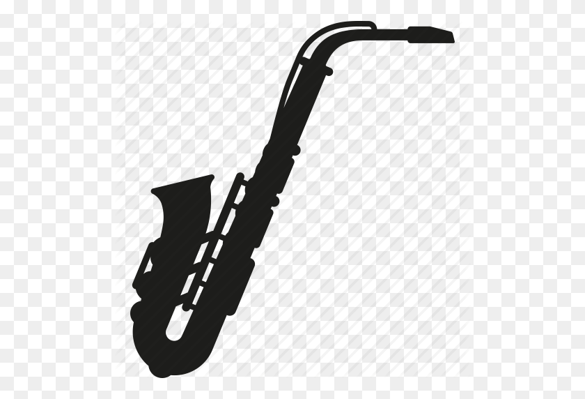 Brass, Instrument, Jazz, Music, Saxophone, Sound, Wind Instrument Icon - Saxophone PNG