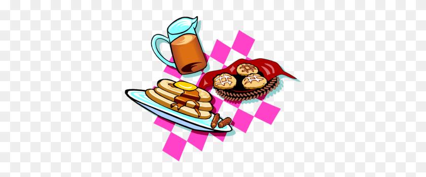 350x289 Breakfast Fundraiser Cliparts - Easter Breakfast Clipart
