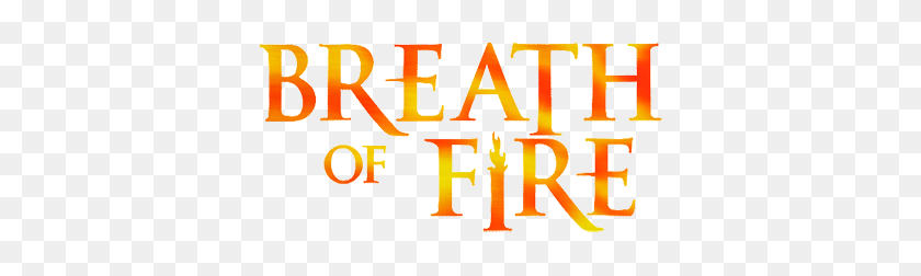 Breath Of Fire - Fire Breath PNG