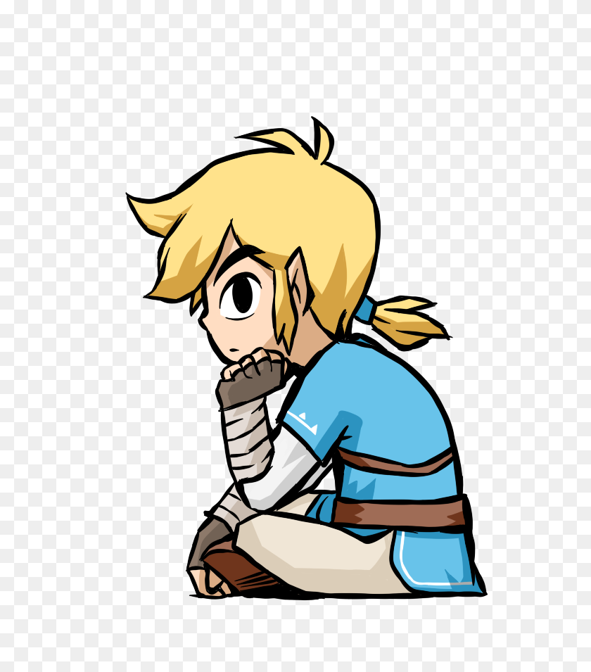 Breath Of The Wild Toon Link The Legend Of Zelda Breath - Zelda Breath Of The Wild PNG