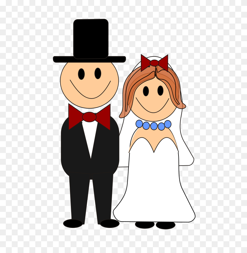 Bride Groom Clipart Look At Bride Groom Clip Art Images - Wedding Day Clipart