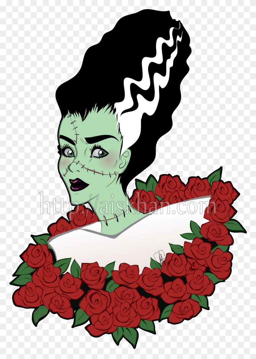 Bride Of Frankenstein Ayesha Khan - Bride Of Frankenstein Clipart