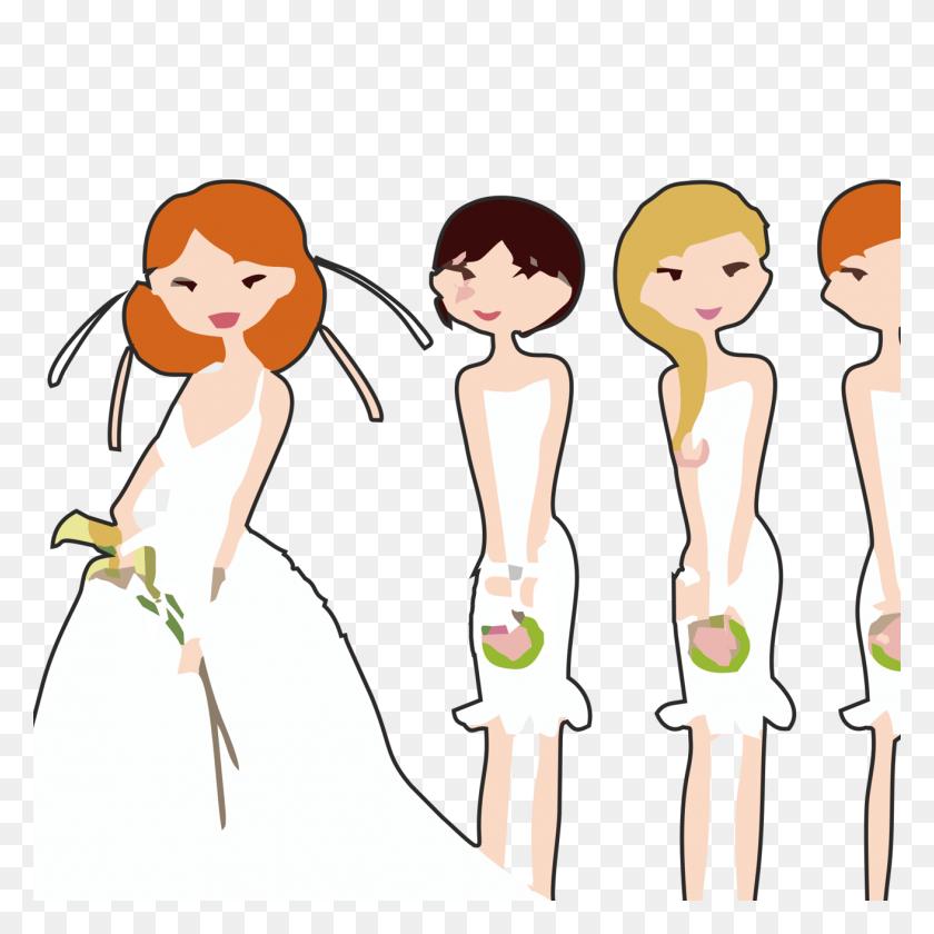 Bridesmaid Clip Art - Bridesmaid Clipart