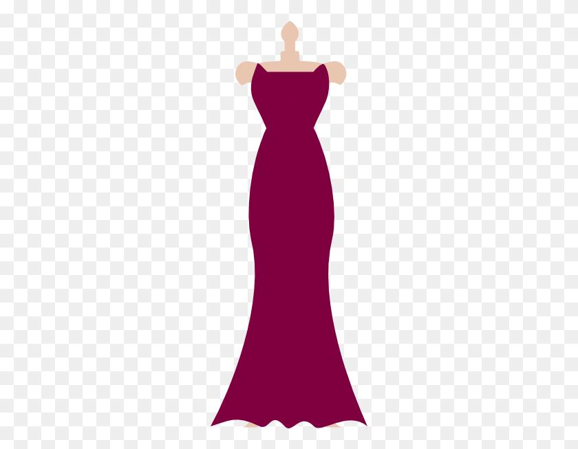 Bridesmaid Dress Cliparts - Red Dress Clipart