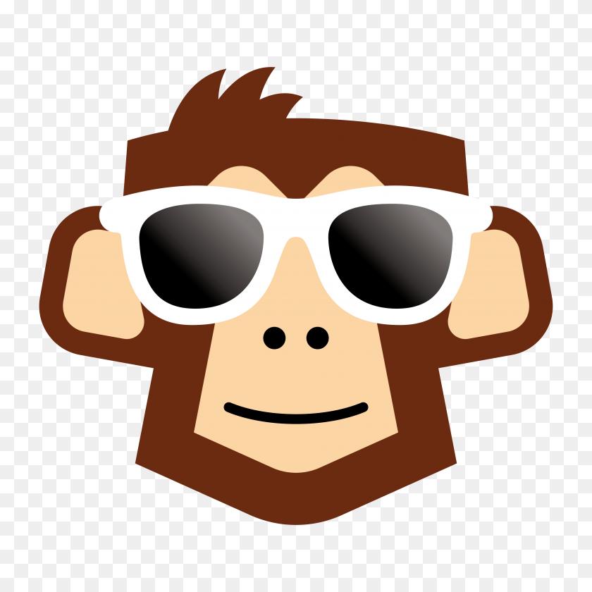 Brisbane Graphic Design Gorilla Glasses Clip Art - Gorilla Clipart