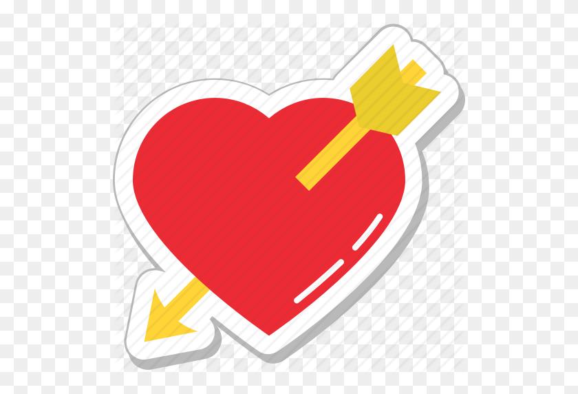 Broken Heart Clipart Arrow - Heart With Arrow Clipart