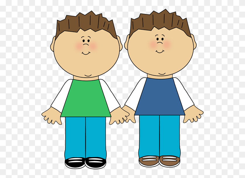 Broth Cliparts - Brother And Sister Clipart
