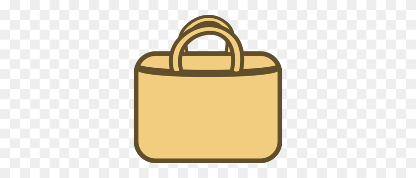 300x300 Brown Bag Clipart - Sack Lunch Clipart