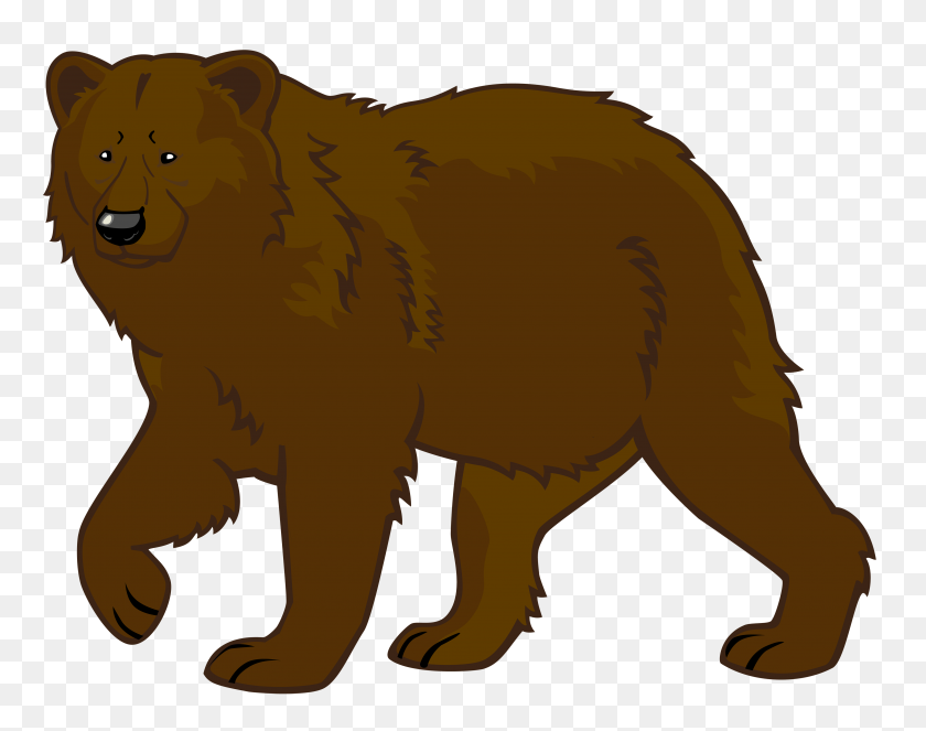Brown Bear Png Clipart - Cute Animal PNG