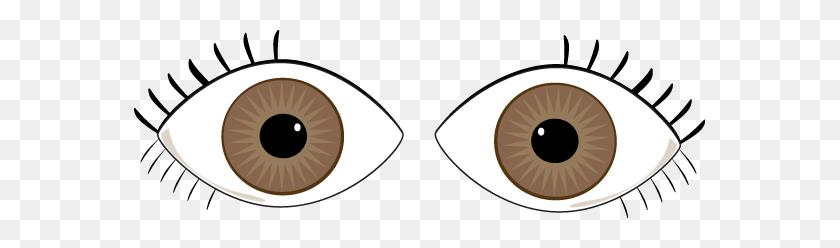 571x188 Brown Eye Clip Art - Free Clipart Eyes