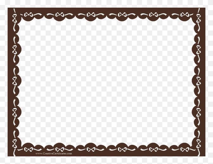 Brown Frame Png Images Transparent Free Download - Fancy Borders PNG